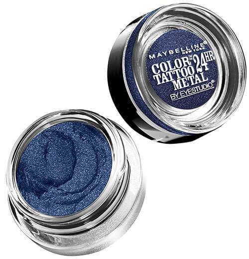 Maybelline Color Tattoo Metal Eye Shadow Electric Blue 75