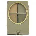 L'Oreal Wear Infinite Eye Shadow Quad Green With Envy 304