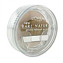 L'Oreal Bare Naturale Gentle Mineral Powder Compact with Brush, Light Ivory 410