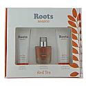 Roots Source Red Tea for Women 50 ml Spray 3Piece gift Set by Coty