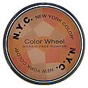 N Y C Color Wheel Mosaic face Powder Peach Glow 726A