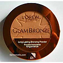Loreal Glam Bronze Long Lasting Bronzing Powder Golden Sun 01