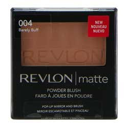 Revlon Matte Powder Blush Barely Buff 004