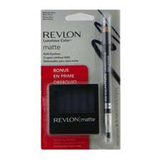 Revlon Luxurious Color Eyeliner Midnight Blue + Eyeshadow Riviera Blue