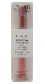 Revlon ColorStay Overtime Sheer Lipcolor Sheer Plumlite 820
