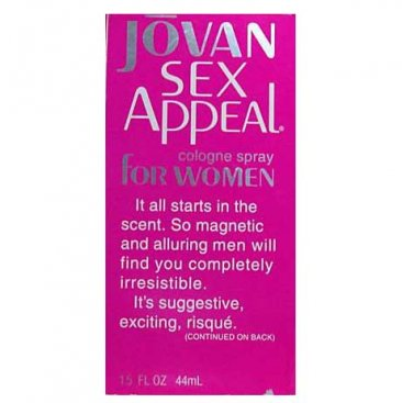 Jovan Sex Appeal by Coty For Women