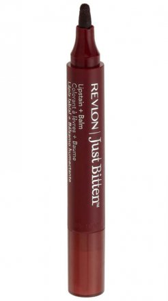 Revlon Just Bitten Lipstain and Balm, Midnight 030
