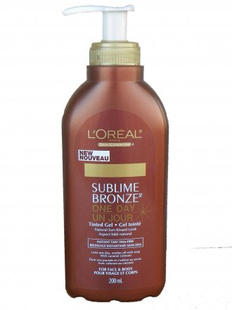 Loreal Paris Sublime Bronze One Day Tinted Gel 200ml