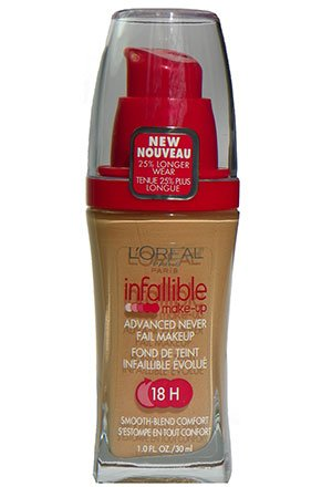 L'Oreal Infallible Advanced Never Fail Makeup Sand Beige 612